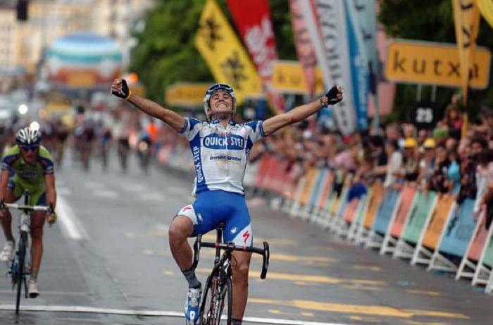 Stage 22 of the Tour de France? Or San Sebastian classic?