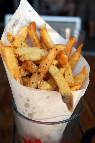 Belgian Frites. Would Belgian bike racing be the same without them?