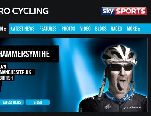 Twisted Spoke Giro podcast. Roddy Hammersmythe on stage 3.