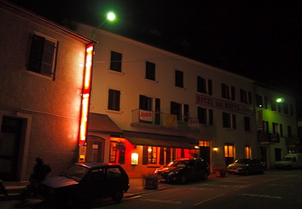 Tour de France haven: hotel des Monts Haute Jura.
