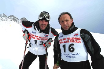 Mario & Moreno. The insult ski team