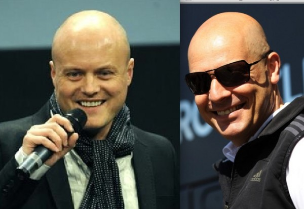 Bald brotherhood. Nygaard and Brailsford.