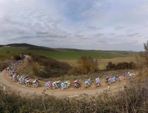 Gilbert wins beautiful and dusty Strade Bianche.