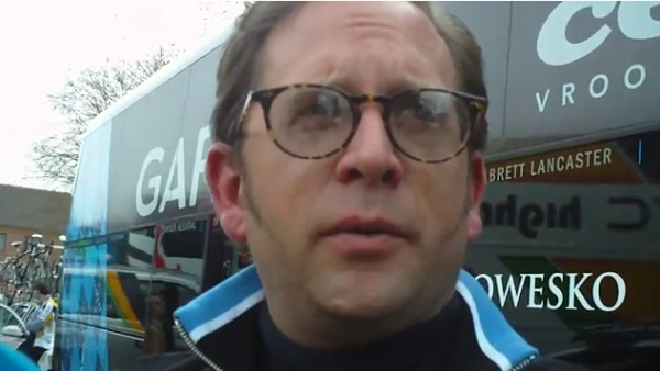 Vaughters. Wassup with Hushovd?