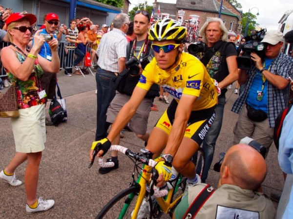 Chavanel at 2010 TDF [photo twisted spoke]