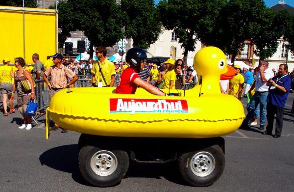 Tour de France fowl.