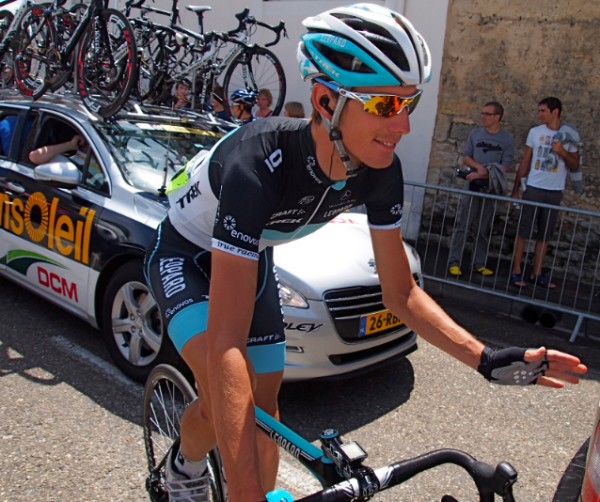 Andy Schleck forgot about Cadel.