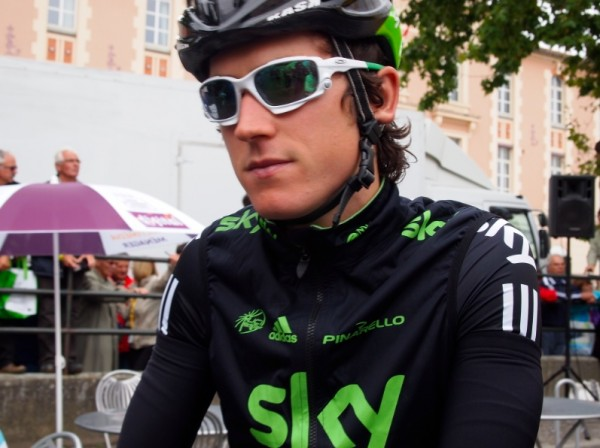 An other-worldly Geraint Thomas.