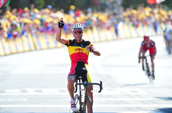 Gilbert triumphs. Photo: © Fotoreporter Sirotti