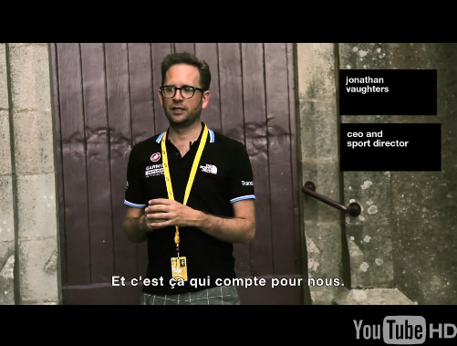 Vaughters on Mavic w