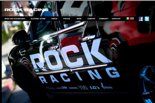 Rock Racing Italian website.