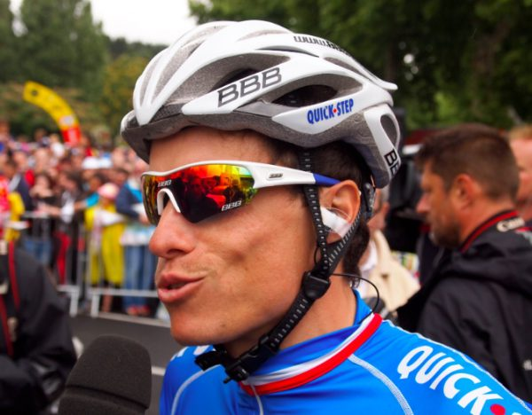Chavanel looking very French.