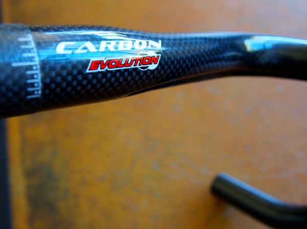 Ritchey Evo Curve carbon bar.