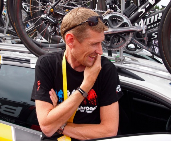 Aldag at 2011 TDF [photo twisted spoke]
