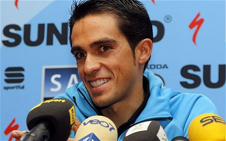 Contador. Plenty at steak.