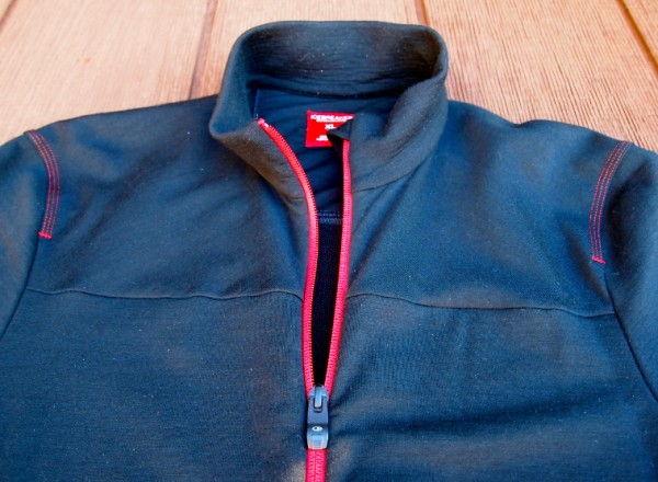 Two pocket, full front zip.