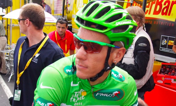 Philippe Gilbert, TDF 2011. [photo twisted spoke]