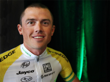 Gerrans follows Goss with the win.