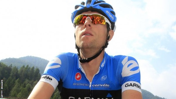 Hesjedal. Things looking up at Giro.