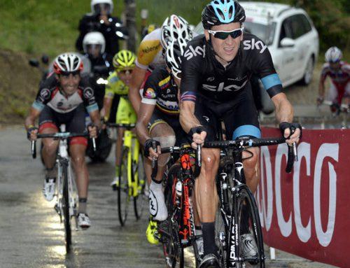 Rain takes down Wiggins. Weather defeats Sky in Giro.