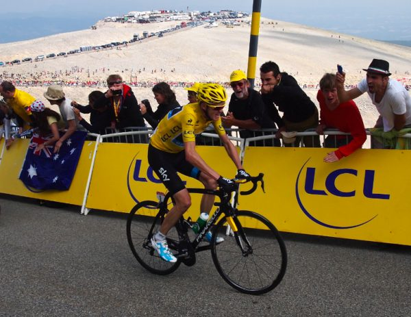 Froome, Ventoux, 450 meters. photo: twisted spoke
