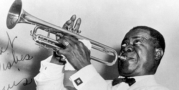 Louis Armstrong. Still the boss.