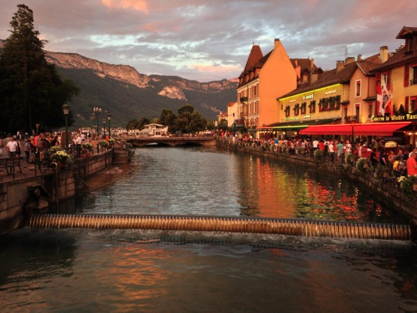 Annecy, post hitch-hiking.