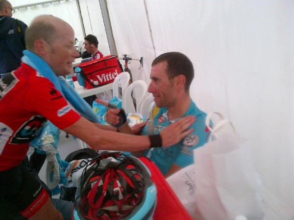 Horner buying first round in Madrid says Nibali.