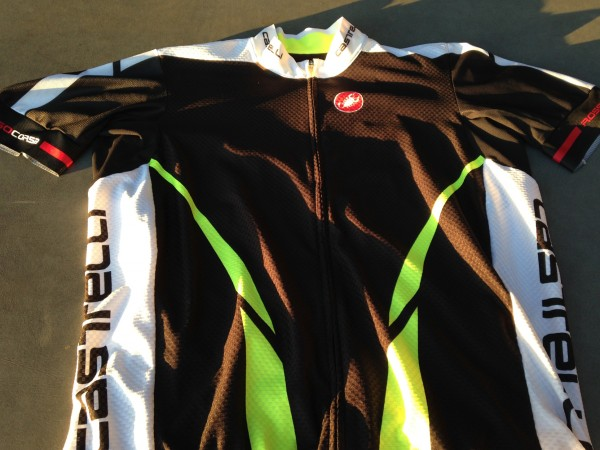 Castelli Climber's jersey.