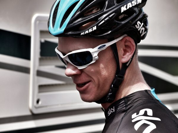 Froome. Ready for the stage.
