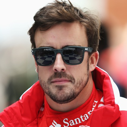 Alonso. Ferrari red to lime green?