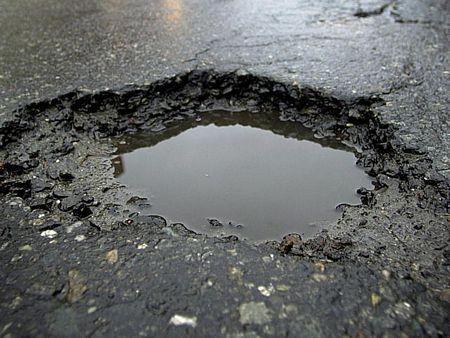 Poggio potholes.