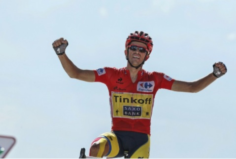 Alberto wins Vuelta.