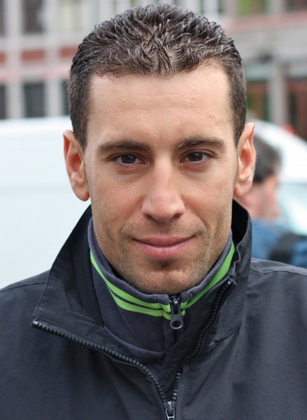 Nibali. Not so happy.