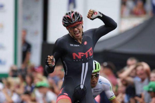 Von Hoff sprinting back to WorldTour