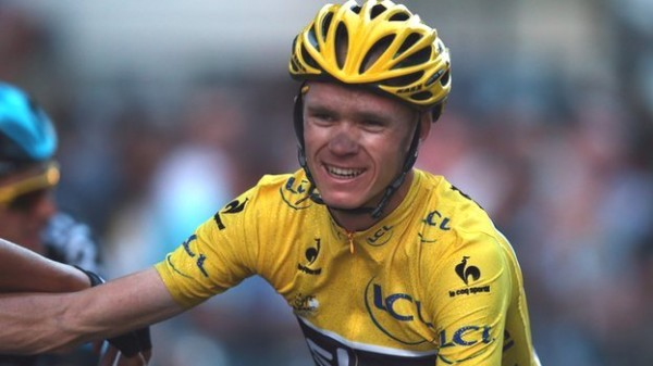 Froome mad at Shark