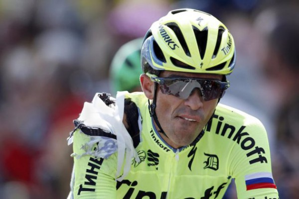 Contador down again