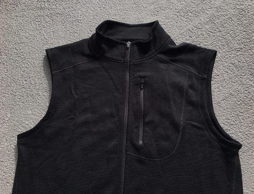 Review: Ibex Shak merino wool vest
