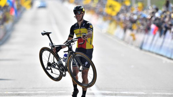 Gilbert. Walking tall in Flanders