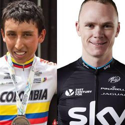 Which one is Froome?