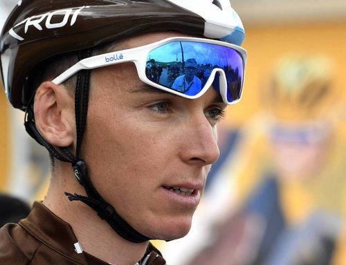 Romain Bardet talking krazy.
