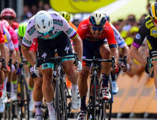 Lead-out man leads Tour de France after stage 1