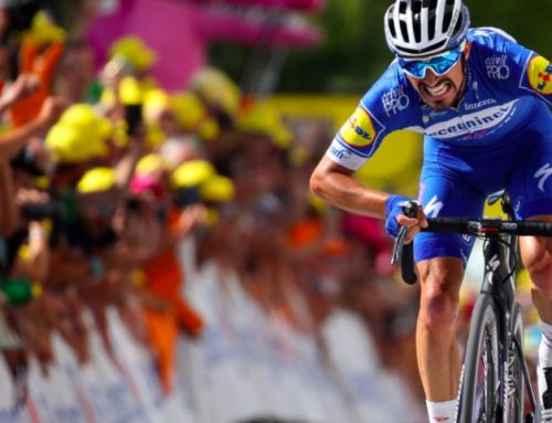 Alaphilippe attacks passive peloton and takes yellow