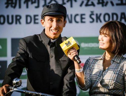 Bernal goes full Mao for Shanghai, China bike race