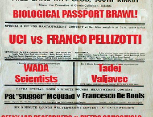 Ominous signs: Pellizotti confident, Testa lukewarm.