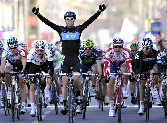 Henderson wins Paris-Nice stage 2.
