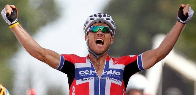 Roubaix fall-out. Hushovd unhappy at Garmin-Cervelo.