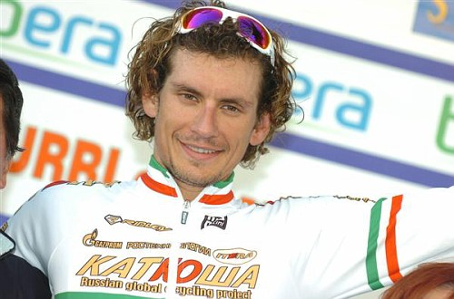 Pozzato cut from Katusha Giro roster. Ouch.