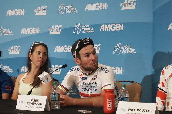 Cav looking old-school with the lipstick.